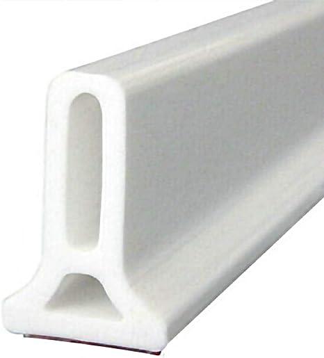 Guoc Tiras de tap/ón de Agua de Silicona Flexibles,umbral de Ducha Plegable,Barrera de Ducha y Sistema de retenci/ón para la Ducha y Mantiene el Agua Dentro del umbral
