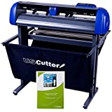 USCutter 28-inch Titan 2 Vinyl Cutter/Plotter with Stand, Basket and Design and Cut Software