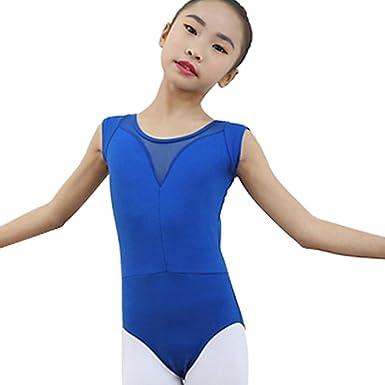 f4652c7b5 Amazon.com  Girls Flutter Ruffle Non Tutu Style Short Sleeve Ballet ...