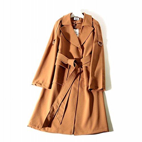 Cazadora Larga Sd Correa Sección Moda En Un Abrigo De La Mujeres tSwwqYax