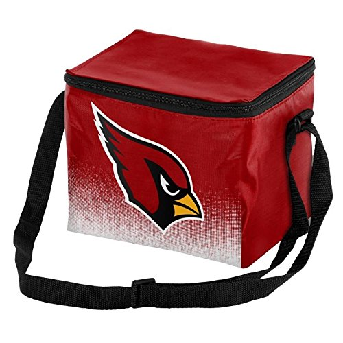 Forever Collectibles NFL Unisex Gradient Print Lunch Bag Coolergradient Print Lunch Bag Cooler, Arizona Cardinals, Standard