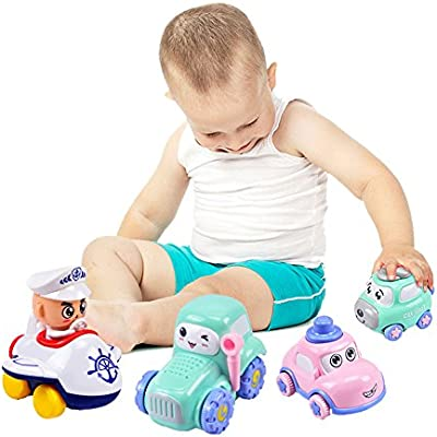 Amazon Com Little Bado Toy Vehicle Set Playset Toy For Kids
