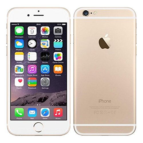 Apple iPhone 6 16 GB Unlocked, Gold (Renewed)