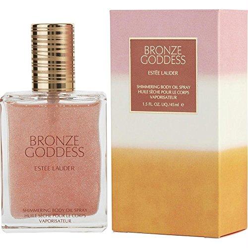 (Estee Lauder Bronze Goddess Shimmering Body Oil Spray, 1.5)