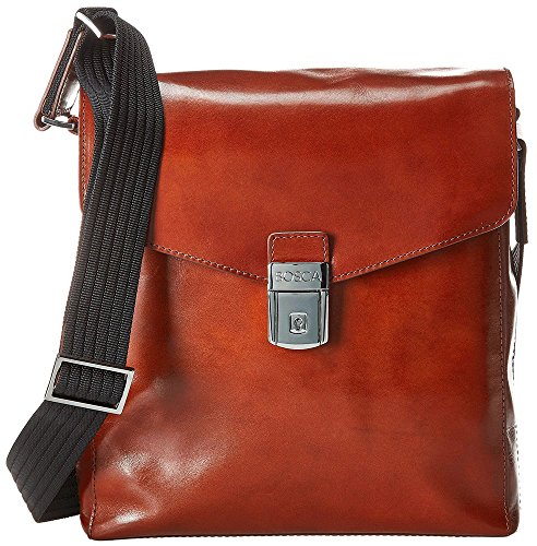 - Bosca Old Leather Man Bag (Amber)