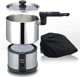 Magic Chef MEK-1300S Electric Multi Mini Cooker Hot pot 1.3L Compact Travel Camping