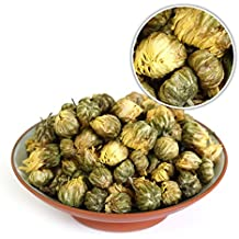 GOARTEA 250g (8.8 Oz) Organic Premium Golden Fetal Chrysanthemum Buds Flower Floral Dried Herbal Natural Health Chinese Tea