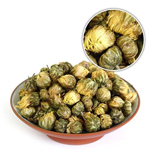 GOARTEA 250g (8.8 Oz) Organic Premium Golden Fetal Chrysanthemum Buds Flower Floral Dried Herbal Natural Health Chinese Tea Chinese Chrysanthemum Tea