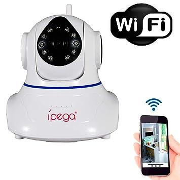 cb3632ff3b571 Câmera Wi-Fi IP Wireless Sem Fio HD+ 960p 2 Antenas Infra Vermelho PTZ P2P