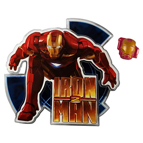 DecoPac, Iron Man 2, Cake Decorating Kit, Includes Topper and Ring.]()