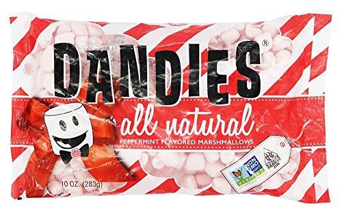 DANDIES Peppermint Marshmallows, 10 OZ