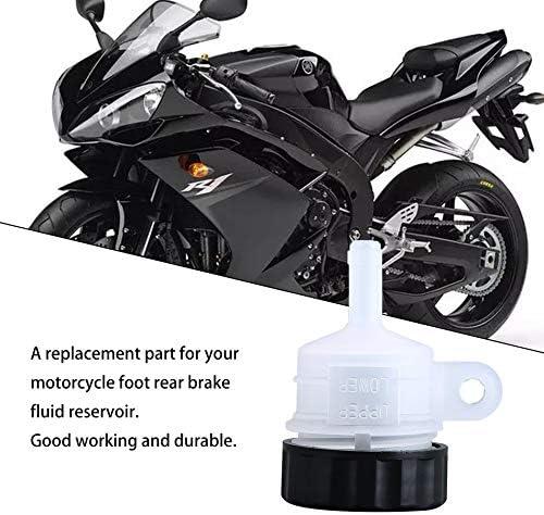 noir /& blanc Pied de moto frein ma/ître maitre cylindre r/éservoir huile coupe bouteille r/éservoir accessoires voiture accessoires