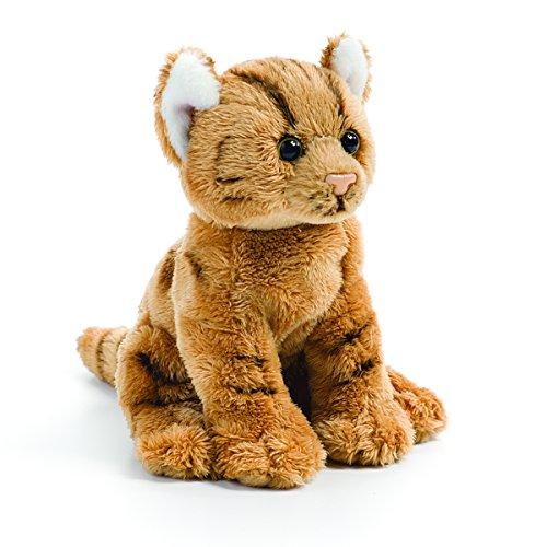 Demdaco Baby Plush Beanbag, Orange Tabby (Orange Tabby Cats)