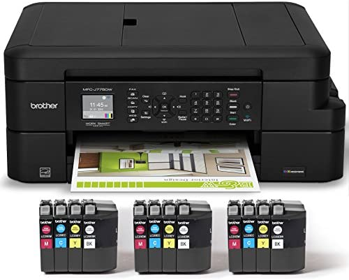 Brother Printer MFC J775DW Printing Included