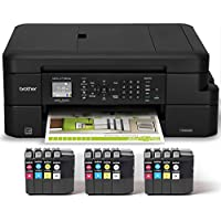 Brother MFC-J775DW XL Extended Print INKvestment Compact Color Inkjet All-in-One Printer with up to 2-years of ink included