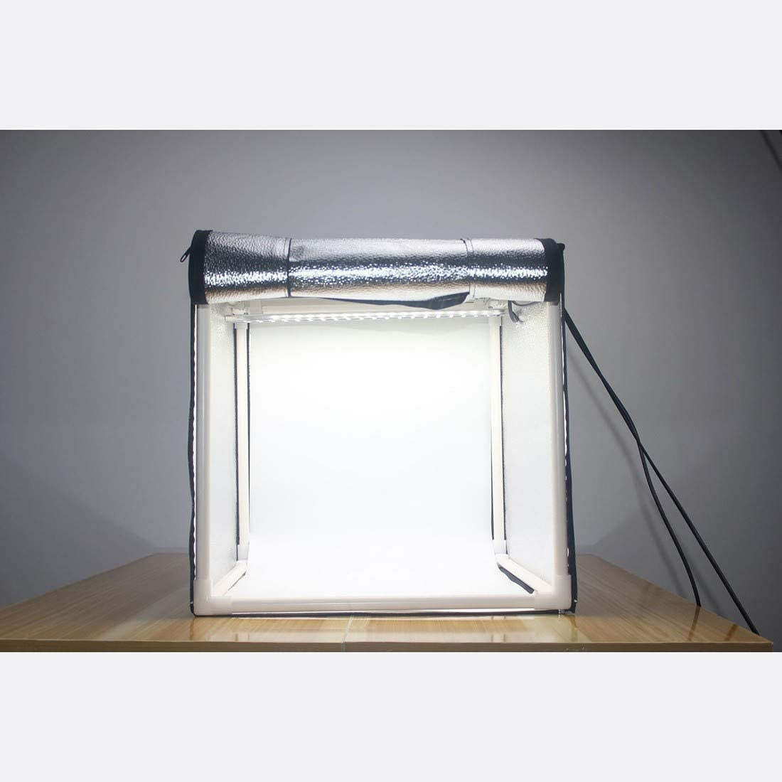 Food Shoes Photography etc HWENJ Mini Portable Photography Studio Light Tent for Jewellery Photography Studio Light Box Shooting Tent Kit , with LED Light