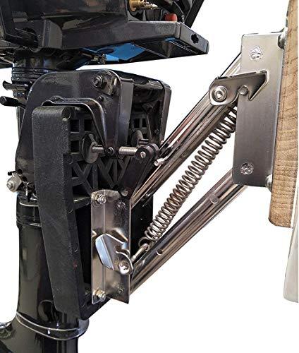 - M-ARINE BABY Stainless Steel Outboard Motor Bracket 10 Hp, 2 Stroke