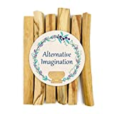 Alternative Imagination Premium Palo Santo Holy Wood Incense Sticks, for Purifying, Cleansing,...
