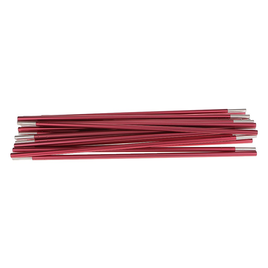 Perfeclan Foldable Aluminum Rod Tent Pole Replacement Accessories 320cm Fuchsia,/Φ8.5mm,320 cm Multifunction Tent Poles Rod 8.5//9.5//11mm
