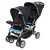 Baby Trend Sit n Stand Double Stroller - Optic Aqua