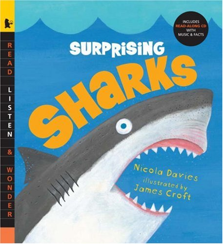 Surprising Sharks with Audio: Read, Listen, & Wonder