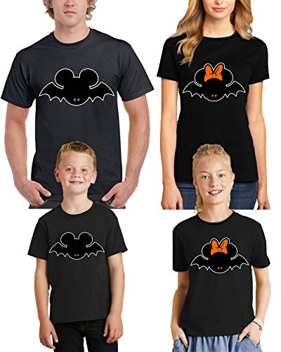 Scary Halloween Costumes Black Men Crew T-Shirts WoScary