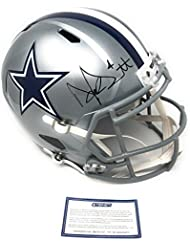 Dak Prescott Dallas Cowboys Signed Autograph Full Size Speed Helmet Steiner Sports Certified