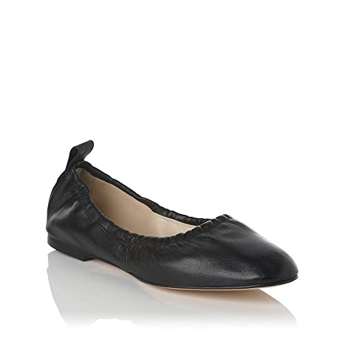 a86b96f68 LK BENNETT L.K.Bennett Cora Black Leather Flats Size UK 6 EU 39 ...