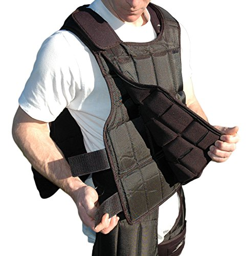 Under-vest Long 37lb. Kit Weighted Upgrade for the Long Uni-vest by Ironwear (Image #4)
