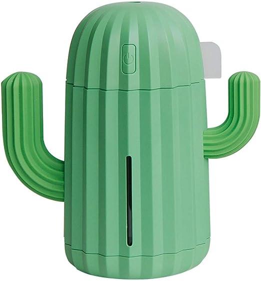 Humidificador de vapor Mini humidificador de neblina Cactus ...