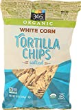365 Everyday Value, Organic White Corn Salted Tortilla Chips, 12 oz