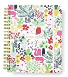 Kate Spade New York 17 Month Mega Hardcover 2019-2020 Daily Planner, Weekly and Monthly Planner with Stickers, Pocket Folder, and Tab Dividers, 10' x 8', August 2019-December 2020, Garden Posy