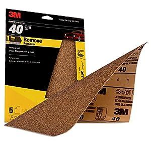 3M Sandpaper, 32115, 80, 9 in x 11 in