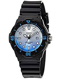 Casio Women's LRW-200H-2EVCR Dive Series Analog Display Quartz Black Watch