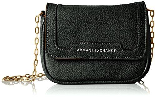 Armani Black Leather Bag - 1