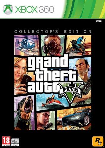 Grand Theft Auto Collectors Edition (Grand Theft Auto V - Collector's Edition - Xbox 360)