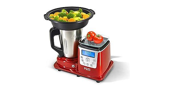 Pem blp-150 Robot multifunción, rojo: Amazon.es: Hogar