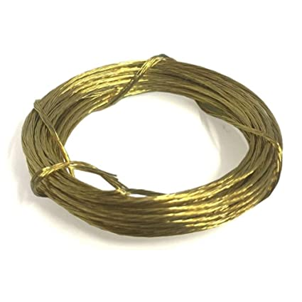 Picture Wire Cord Brass 3.5m Wall Hanging Picture Hanging Photo Frame DIY