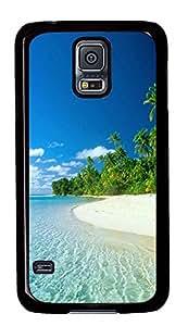 fun Samsung Galaxy S5 case Beautiful Coast PC Black Custom Samsung Galaxy S5 Case Cover