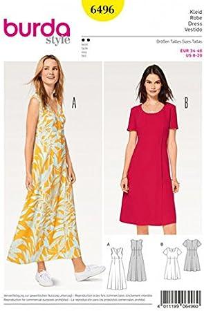Modele robe taille haute