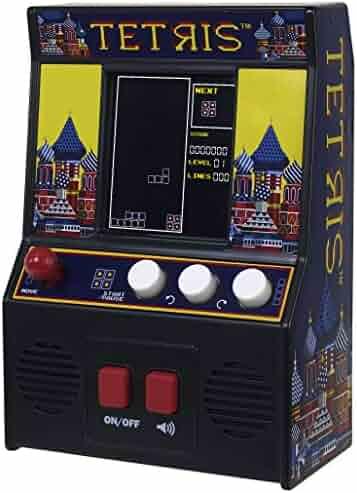 Basic Fun Arcade Classics - Tetris Retro Mini Arcade Game