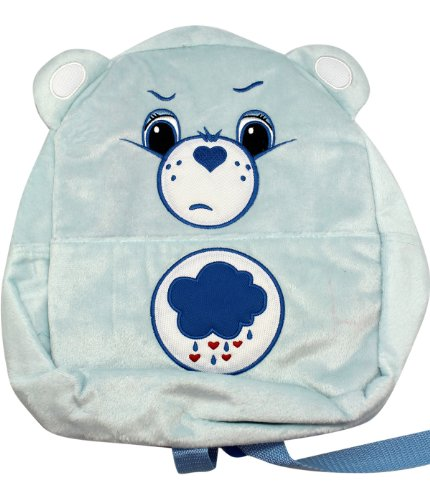 American Greetings Small Size Blue Grumpy Bear Care Bears Plush Material Backpack
