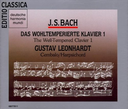 Price comparison product image Bach: Das Wohltemperierte Klavier, Book 1 (The Well-Tempered Clavier)