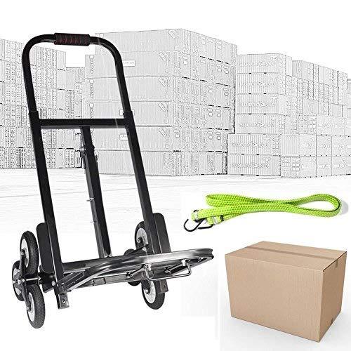 200 kg carretilla plegable escalera carrito de transporte demenagement a 2 X 3 ruedas en acero al carbono: Amazon.es: Industria, empresas y ciencia