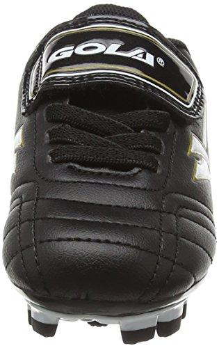 Gola Magnaz Blade, Botas de Fútbol Niños Negro (Black/Gold)