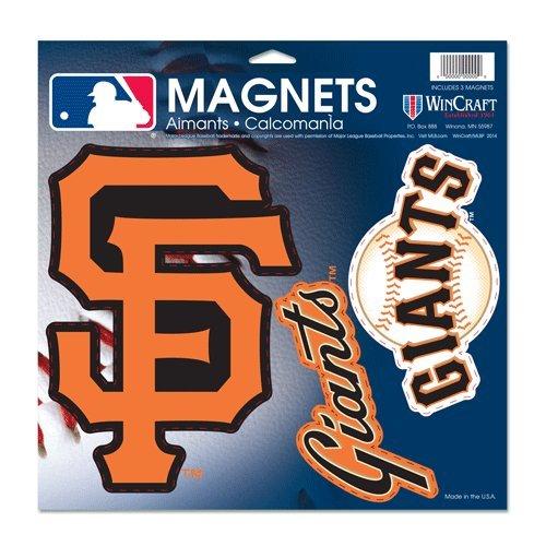 Wincraft MLB San Francisco Giants Vinyl Magnet, 11 x 11
