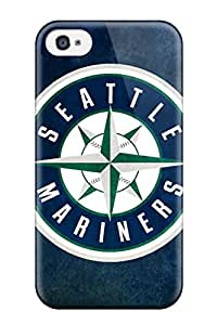 Tough Iphone ZaGIItg1240FaOBz Case Cover/ Case For Iphone 4/4s(seattle Mariners)