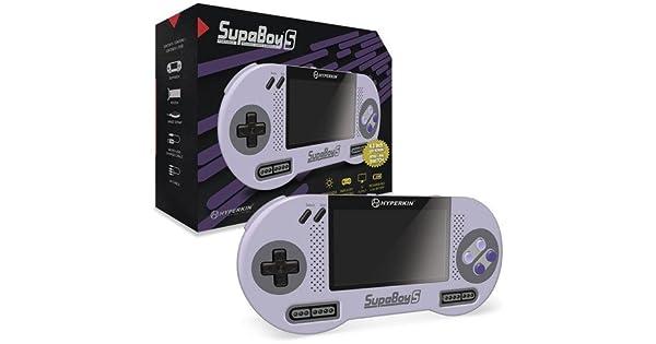 SupaBoy S Portable Pocket Console for SNES: Amazon com au