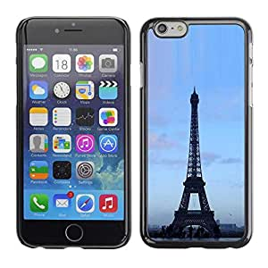 "Exotic-Star ( Architecture Eiffel Tower Blue Sky ) Fundas Cover Cubre Hard Case Cover para 5.5"" iPhone 6 Plus"