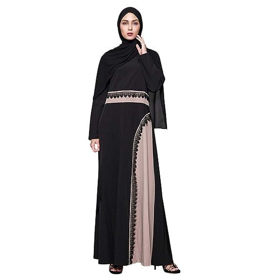 Femme Femmes Grande Longue Musulmane Robe Taille Osyard Maxi v8mNn0w